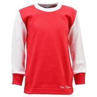 d484a40d4fb Toffs Classic Retro Long Sleeve Kids Football Shirt | Authentic ...